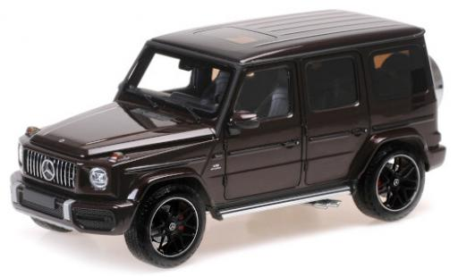 Mercedes Classe G 1/18 Minichamps AMG G63 metallise red 2018 diecast model cars
