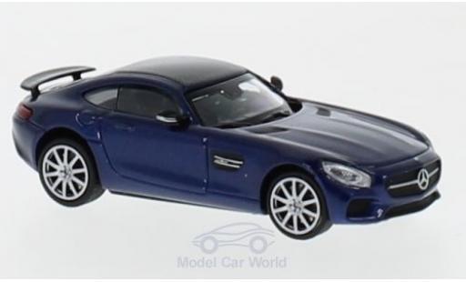 Mercedes AMG GT 1/87 Minichamps S metallise blue 2015 diecast model cars
