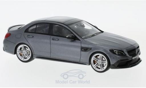 Mercedes Classe C 1/43 Minichamps Brabus 600 matt-grey 2015 Basis AMG C 63 S diecast model cars