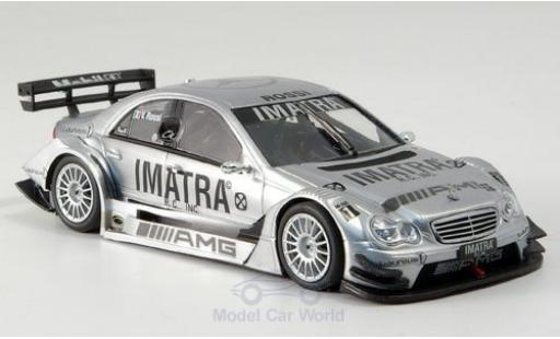 Mercedes Classe C 1/43 Minichamps DTM Imatra Testfahrzeug mit Figur V.Rossi miniatura