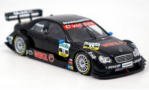 Mercedes Classe C 1/43 Minichamps DTM No.11 Persson Motorsport DTM 2006 A.Margaritis diecast model cars