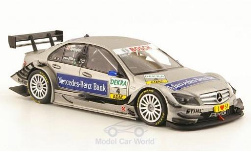 Mercedes Classe C DTM 1/43 Minichamps No.4 -Benz Bank 2010 B.Spengler modellino in miniatura