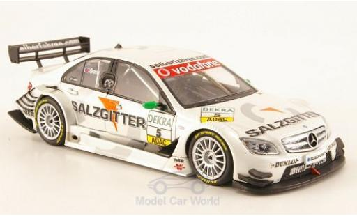Mercedes Classe C DTM 1/43 Minichamps No.5 2007 J.Green diecast model cars