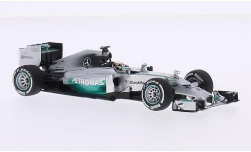 Mercedes F1 1/43 Minichamps W05 Hybrid No.44 AMG Petronas Team Petronas Formel 1 GP China 2014 L.Hamilton miniature
