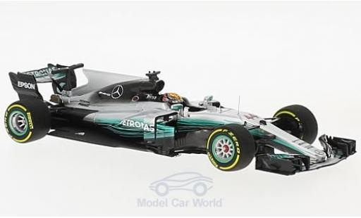 Mercedes F1 1/43 Minichamps W08 EQ Power No.44 AMG Petronas Motorsport Formel 1 GP China 2017 L.Hamilton miniature