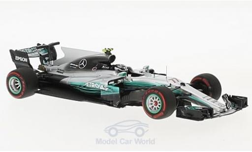 Mercedes F1 1/43 Minichamps W08 EQ Power No.77 AMG Petronas Motorsport Formel 1 GP Russland 2017 V.Bottas miniatura