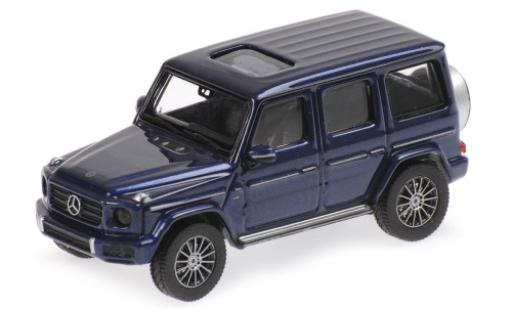 Mercedes Classe G 1/87 Minichamps (W463) metallise bleue 2018 miniature
