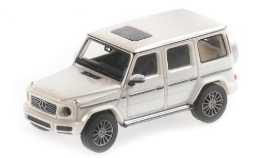 Mercedes Classe G 1/87 Minichamps G500 (W463) metallise blanche 2018 miniature