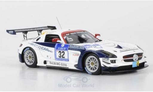 Mercedes SLS 1/43 Minichamps AMG GT3 No.32 Heico Motorsport 24h Nürburgring 2011 A.Margaritis/C.Frankenhout/C.Brück miniature