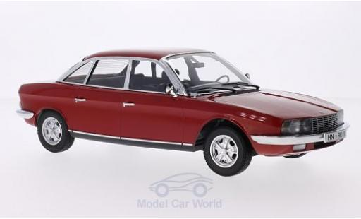 NSU RO 1/18 Minichamps Ro 80 red 1972 diecast model cars
