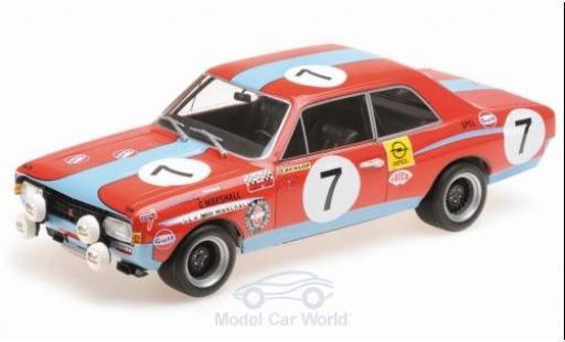 Opel Commodore C 1/18 Minichamps A Steinmetz No.7 Gulf 24h Spa 1972 P.Joossens/G.Marshall miniature