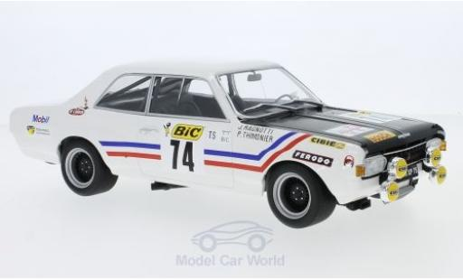 Opel Commodore C 1/18 Minichamps A Steinmetz No.74 Tour de France Auto 1971 J.Ragnotti/P.Thimonier diecast model cars