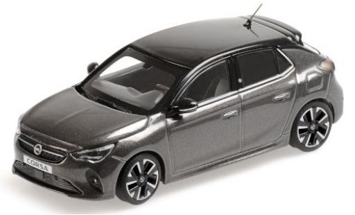 Opel Corsa 1/43 Minichamps E metallise grise/noire 2019 miniature