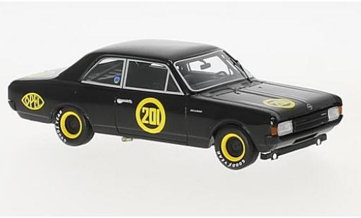 Opel Rekord 1/43 Minichamps 1900 No.201 Zolder 1968 Schwarze Witwe E.Bitter modellautos