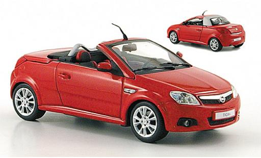 Opel Tigra 1/43 Minichamps Twin Top rouge 2004 miniature