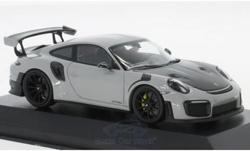 Porsche 911 1/43 Minichamps (991.2) GT2 RS grey/black 2018 diecast