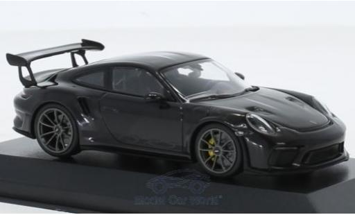 Porsche 991 GT3 RS 1/43 Minichamps 911 (.2) black 2018 diecast model cars