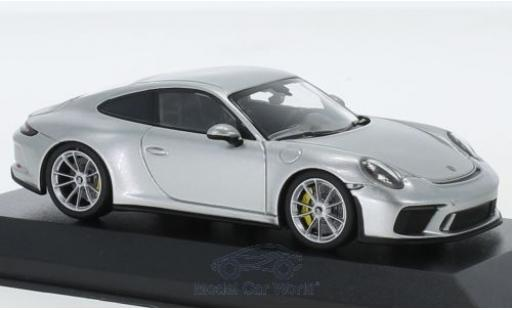 Porsche 991 GT3 1/43 Minichamps 911 (.2) Touring grey 2018 diecast model cars