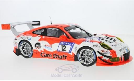 Porsche 991 GT3 R 1/18 Minichamps 911  No.12 Manthey Racing 24h Nürburgring 2017 O.Klohs/R.Renauer/M.Jaminet/M.Cairoli diecast model cars