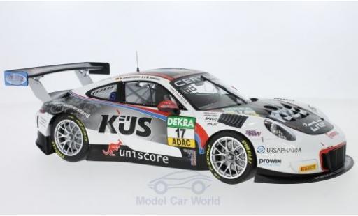 Porsche 991 SC 1/18 Minichamps (991) GT3 R No.17 Küs Team 75 Bernhard ADAC GT Masters Oschersleben 2017 M.Ammermüller /M.Jaminet miniature