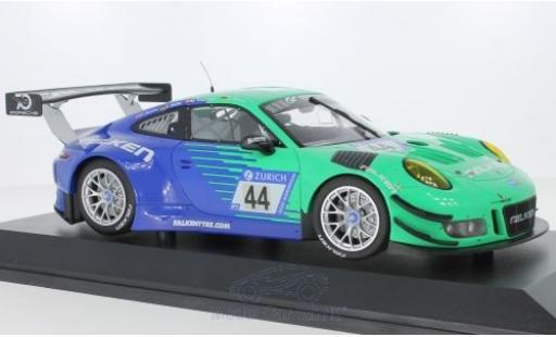 Porsche 911 1/18 Minichamps (991) GT3 R No.44 Falken Motorsports Falken 24h Nürburgring 2018 K.Bachler/S.Müller/M.Ragginger/D.Werner miniature