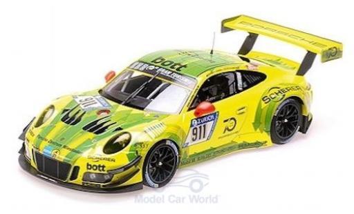 Porsche 991 GT3 R 1/18 Minichamps 911  No.911 Manthey Racing 24h Nürburgring 2018 K.Estre/R.Dumas/L.Vanthoor/E.Bamber miniature