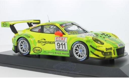 Porsche 991 GT3 R 1/18 Minichamps 911  No.911 Manthey Racing VLN DMV 4h 2017 F.Makowiecki/R.Lietz modellino in miniatura