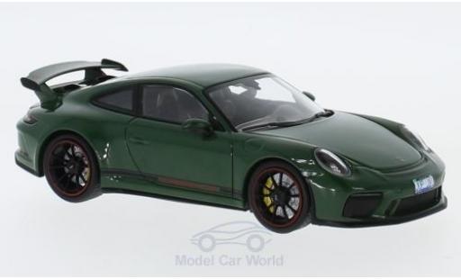 Porsche 991 GT3 1/43 Minichamps 911 ( II) green 2017 diecast model cars