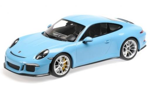 Porsche 991 R 1/12 Minichamps 911  blue 2016 diecast model cars