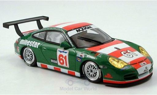 Porsche 996 GT3 1/43 Minichamps 911  No.61 The Racers Group East 24h Daytona 2005 Nearn/Lacey/Shep/Wilkins diecast model cars