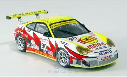 Porsche 996 GT3 RSR 1/43 Minichamps 911  No.90 Petersen/White Lightning Racing 24h Le Mans 2005 J.Bergmeister/P.Long/T.Bernhard miniature