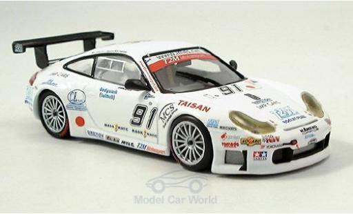 Porsche 996 GT3 RSR 1/43 Minichamps 911  No.91 T2M Motorsport 1000km Spa 2005 Yamagishi/A.Caffi/Pompidou diecast model cars