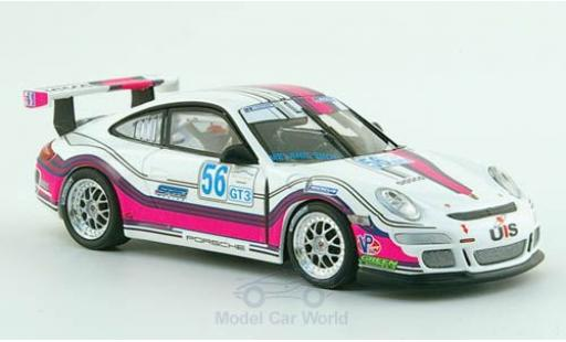 Porsche 997 GT3 CUP 1/43 Minichamps 911 GT3 Cup No.56 Team Snow Racing Le Mans 2008 M.Snow modellino in miniatura