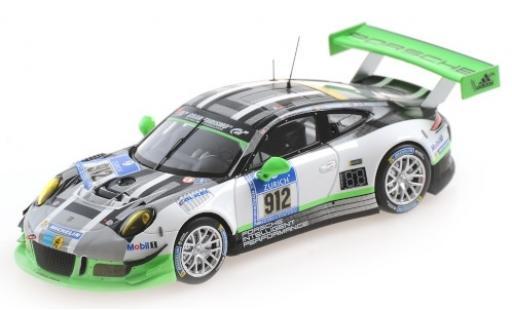 Porsche 991 GT3 R 1/43 Minichamps 911  No.12 24h Nürburgring 2016 R.Lietz/J.Bergmeister/M.Christensen/F.Makowiecki diecast model cars
