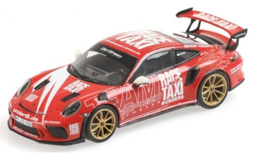 Porsche 992 GT3 R 1/43 Minichamps 911 S (991.2) GetSpeed Performance Race Taxi Nürburgring 2019 modellino in miniatura