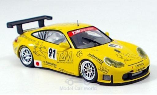 Porsche 997 GT3 RS 1/43 Minichamps 911 No.91 Essais du Mans 2006 Yamagishi/de Fournoux/Konopka modellino in miniatura