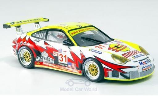 Porsche 997 GT3 RSR 1/43 Minichamps 911 No.31 Sebring 2005 J.Bergmeister/P.Long modellino in miniatura
