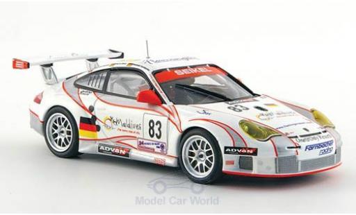 Porsche 997 GT3 RSR 1/43 Minichamps 911 No.83 Seikel Motorsport 24h Le Mans 2006 L.E.Nielsen/P.Ehret/D.Farnbacher miniature