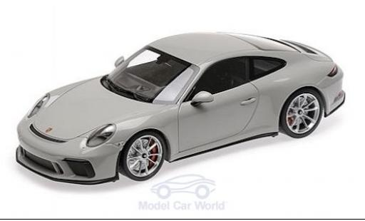Porsche 991 GT3 1/18 Minichamps 911 Touring ( II) grise 2018 miniature