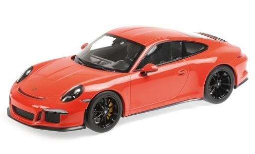 Porsche 991 R 1/12 Minichamps 911 orange 2016 diecast model cars