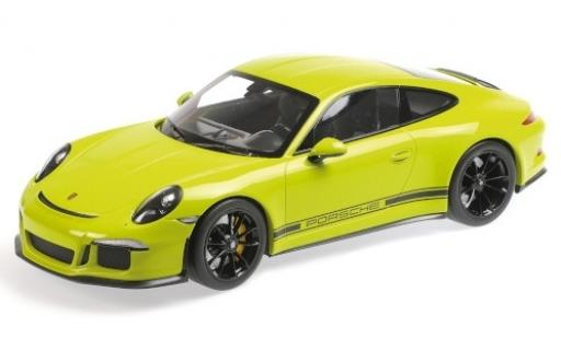 Porsche 991 R 1/12 Minichamps 911 green 2016 diecast model cars
