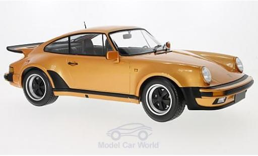 Porsche 930 Turbo 1/12 Minichamps 911 metallise orange 1977 diecast model cars