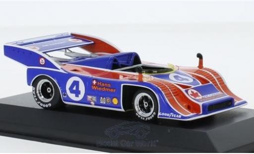Porsche 917 1973 1/43 Minichamps /10 RHD No.4 Can-Am Mosport H.Wiedmer miniature