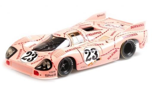 Porsche 917 1/18 Minichamps /20 No.23 Pink Pig 24h Le Mans 1971 W.Kauhsen/R.Joest coche miniatura