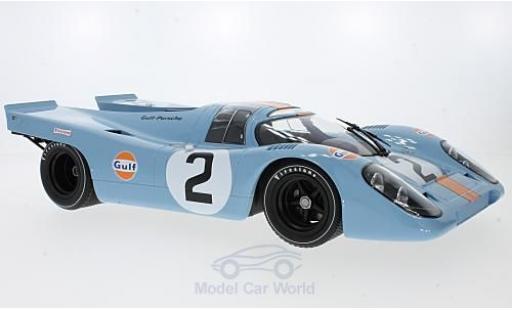Porsche 917 1970 1/12 Minichamps K No.2 J.W.Engineering 24h Daytona P.Rodriguez/L.Kinnunen/B.Redman miniature