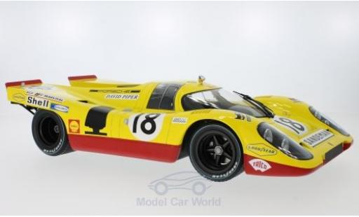 Porsche 917 1970 1/12 Minichamps K No.18 AAW Racing Team With David Piper 24h Le Mans D.Piper/G.van Lennep miniature