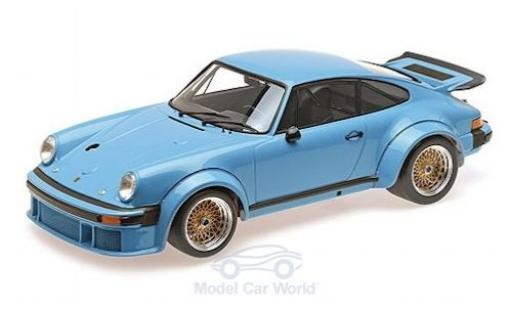 Porsche 934 1976 1/12 Minichamps blue diecast model cars