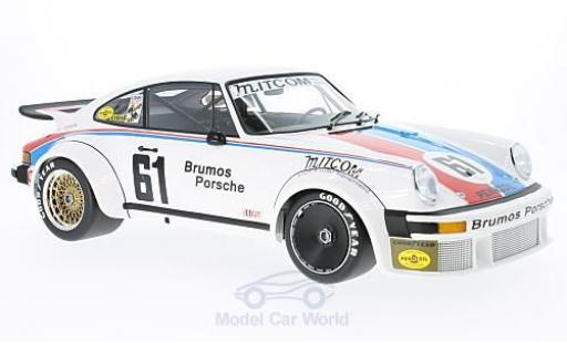 Porsche 934 1/18 Minichamps No.61 Brumos Racing 24h Daytona 1977 P.Gregg/J.Busby miniature