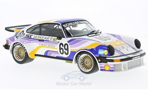 Porsche 934 1976 1/18 Minichamps No.69 Schiller Racing Team 24h Le Mans C.Haldi/F.Vetsch diecast model cars