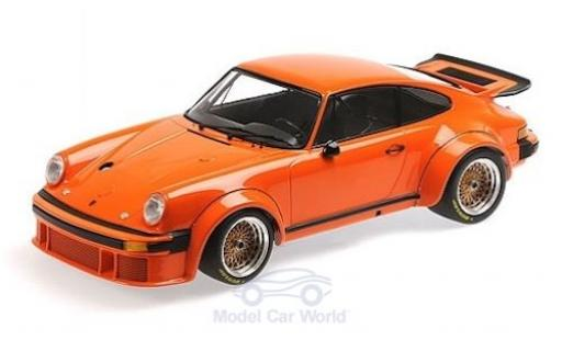 Porsche 934 1976 1/12 Minichamps orange miniature
